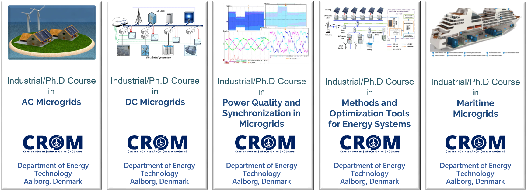 Our PhD courses list overview